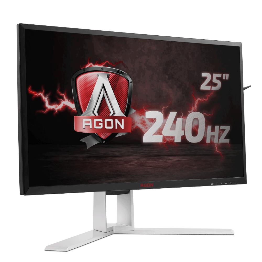 "AOC 24.5"" 1920 x 1080 1ms VGA/HDMI/DVI/DP LCD Monitor"