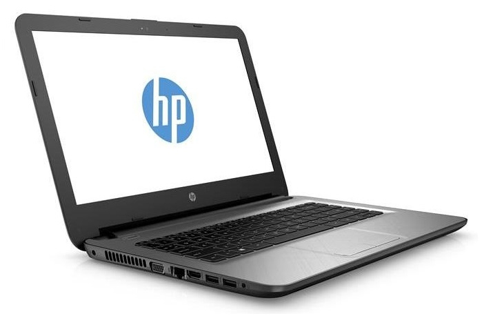 "HP 14-ac100nl 1.6GHz N3050 14"" 1366 x 768Pixel Grigio Computer portatile"