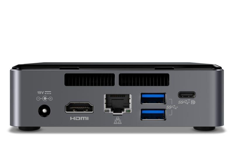 Intel NUC7I3BNK BGA 1356 2.40GHz i3-7100U Nero barebone per PC/stazione di lavoro
