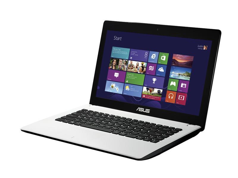 """ASUS F451CA-VX194H 1.8GHz i3-3217U 14"""" 1366 x 768Pixel Bianco Computer portatile"""