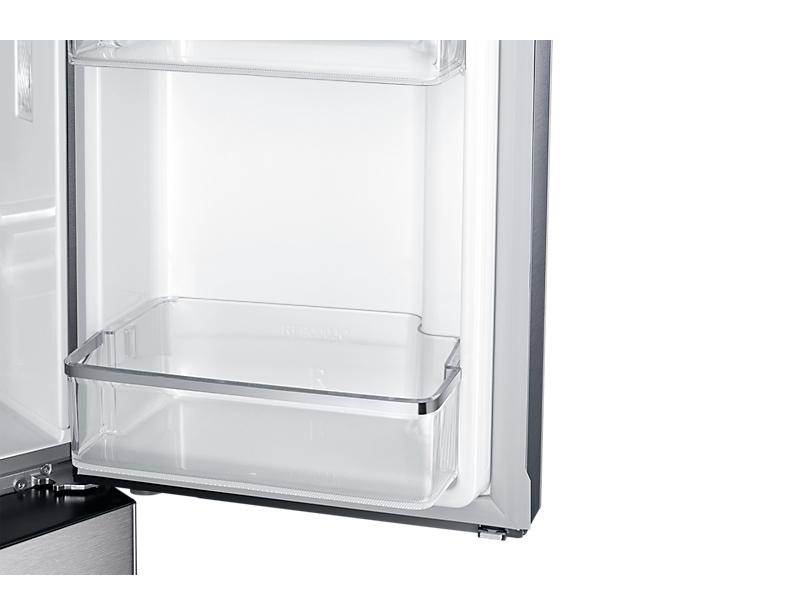 Samsung RF60J9070SR Libera installazione Argento frigorifero side-by-side