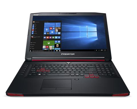 "Acer Predator 17 G9-793-79CS 2.6GHz I7-6700HQ 17.3"" 1920 x 1080Pixel Nero Computer portatile"