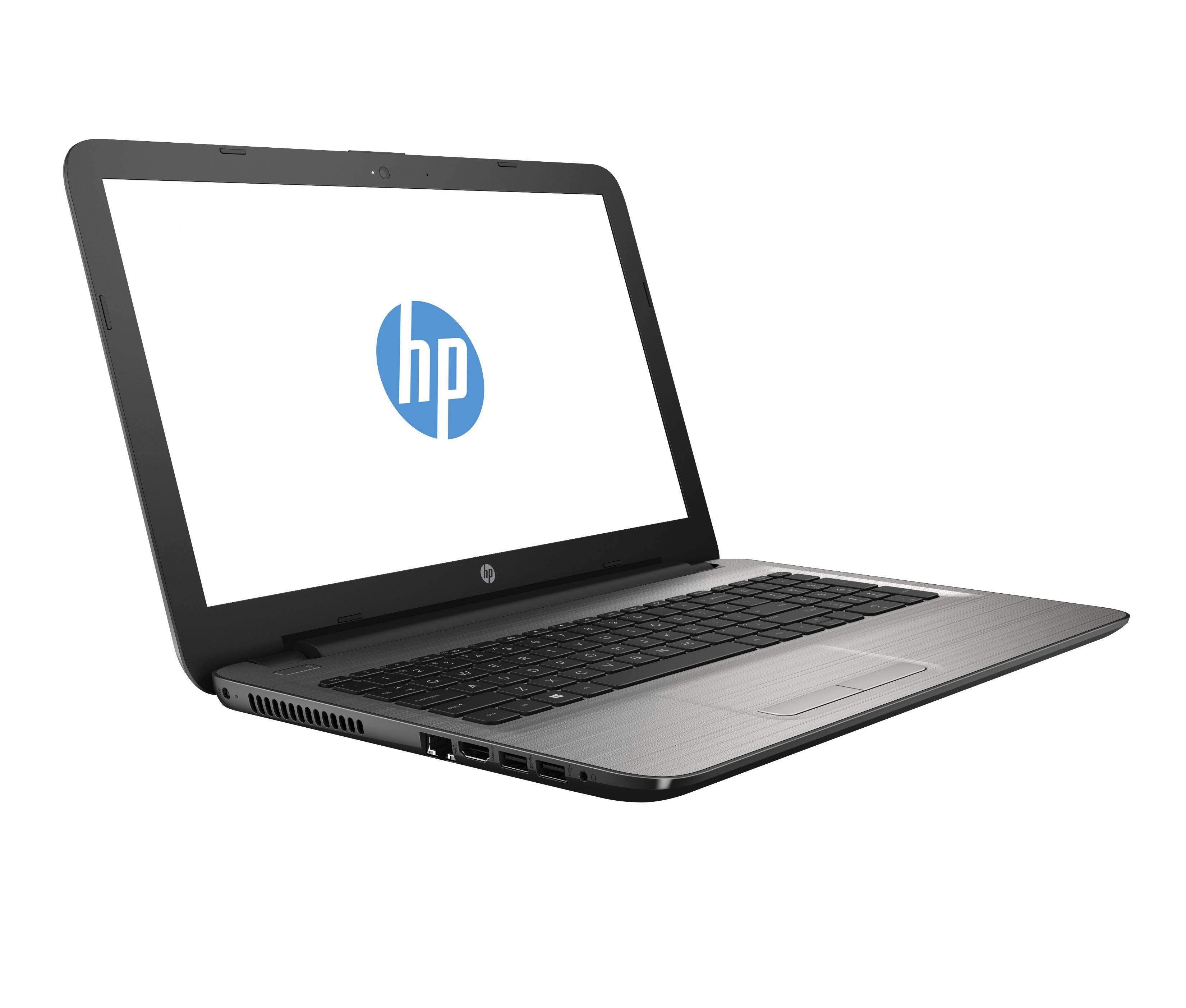 "HP 15-ay188tx 2.70GHz i7-7500U 15.6"" 1366 x 768Pixel Grigio, Argento Computer portatile"