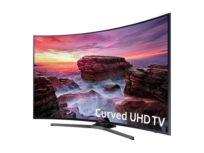 """Samsung MU6500 64.5"""" 4K Ultra HD Smart TV Wi-Fi Nero LED TV"""