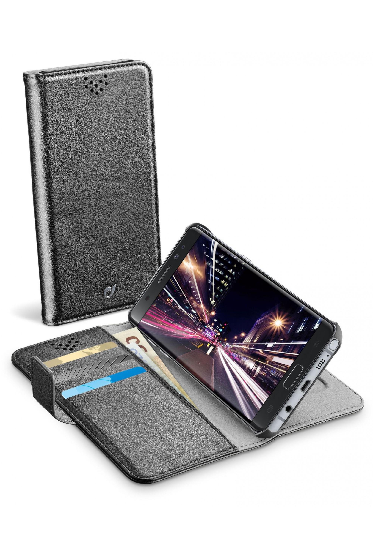 Cellularline Book Agenda - Galaxy Note 7 Custodia a libro pratica e funzionale Nero