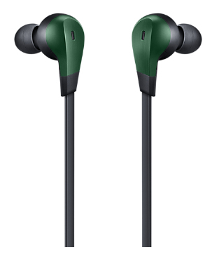 Samsung EO-IG950B Auricolare Stereofonico Cablato Nero, Verde auricolare per telefono cellulare