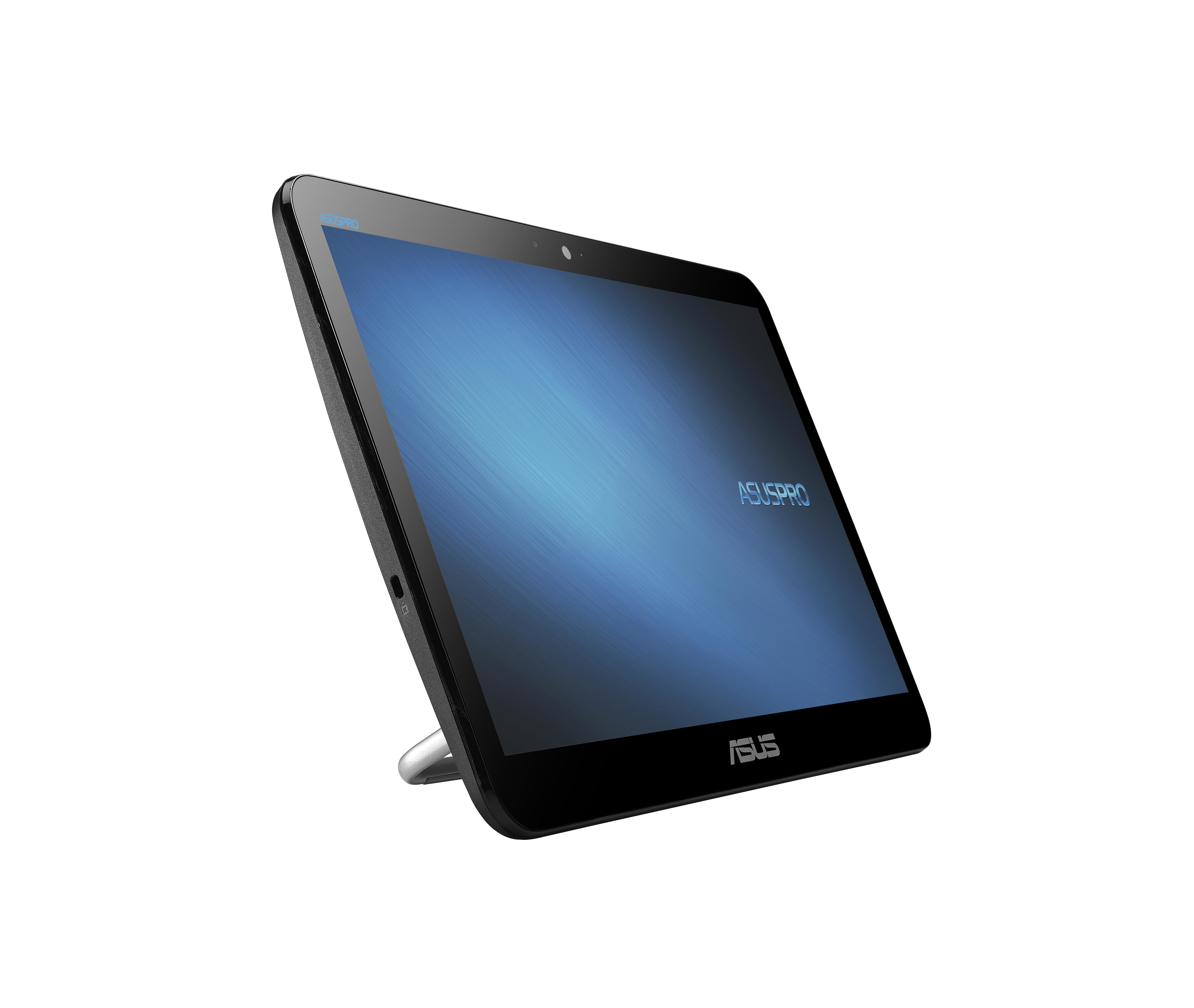 """ASUSPRO A4110-BD328X 1.6GHz J3160 15.6"""" 1366 x 768Pixel Touch screen Nero PC All-in-one"""