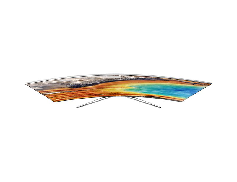 "Samsung MU9000 55"" 4K Ultra HD Smart TV Wi-Fi Nero, Argento LED TV"