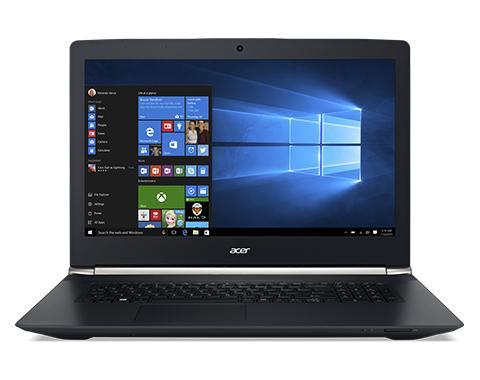 "Acer Aspire 17 Nitro (VN7-792G) 2.6GHz i7-6700HQ 17.3"" 1920 x 1080Pixel Nero Computer portatile"