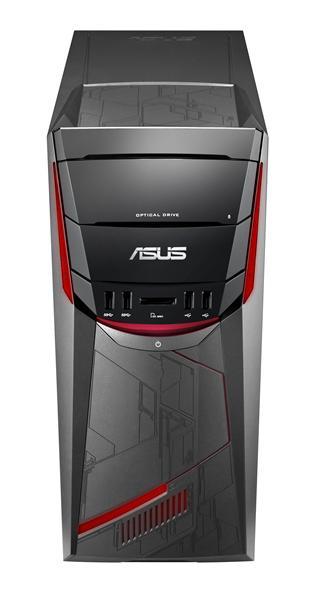 ASUS ROG G11CD-K-NR088T 3.6GHz i7-7700 Torre Nero, Grigio, Rosso PC