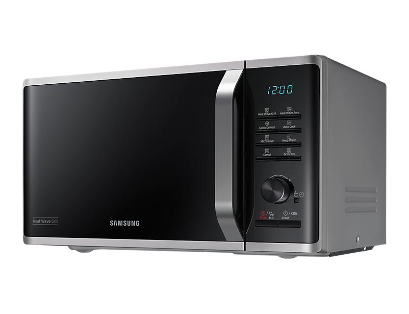 Samsung MW3500 Piano di lavoro Microonde con grill 23L 800W Nero, Argento