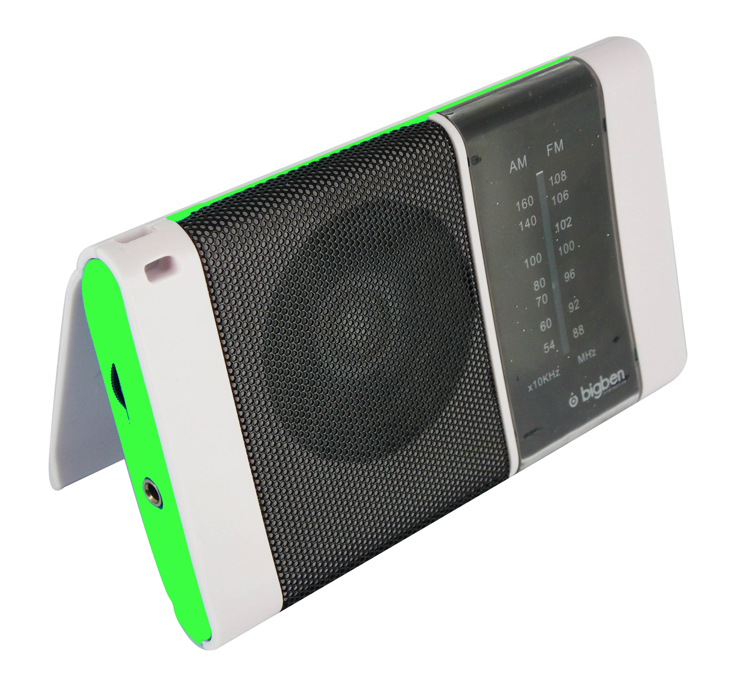 Bigben Interactive TR10V Portatile Blu, Verde, Bianco radio