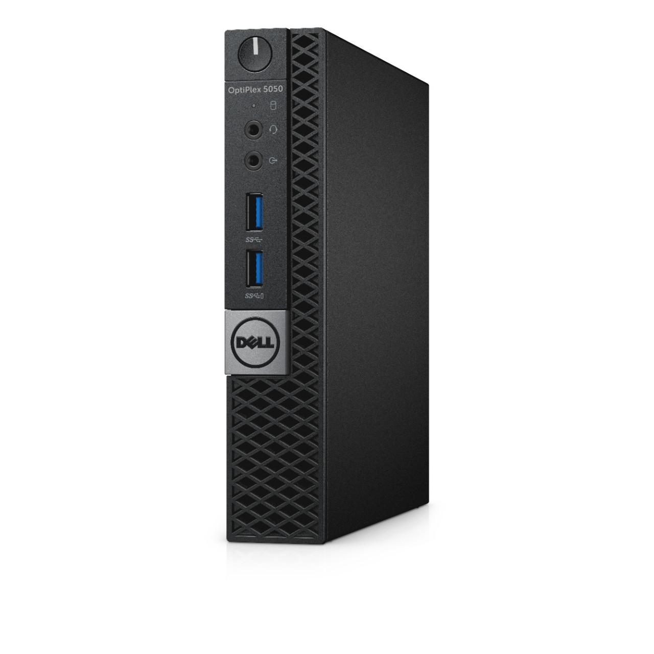 DELL OptiPlex 5050m 3.4GHz i3-7100T PC di dimensione 1,2L Nero Mini PC
