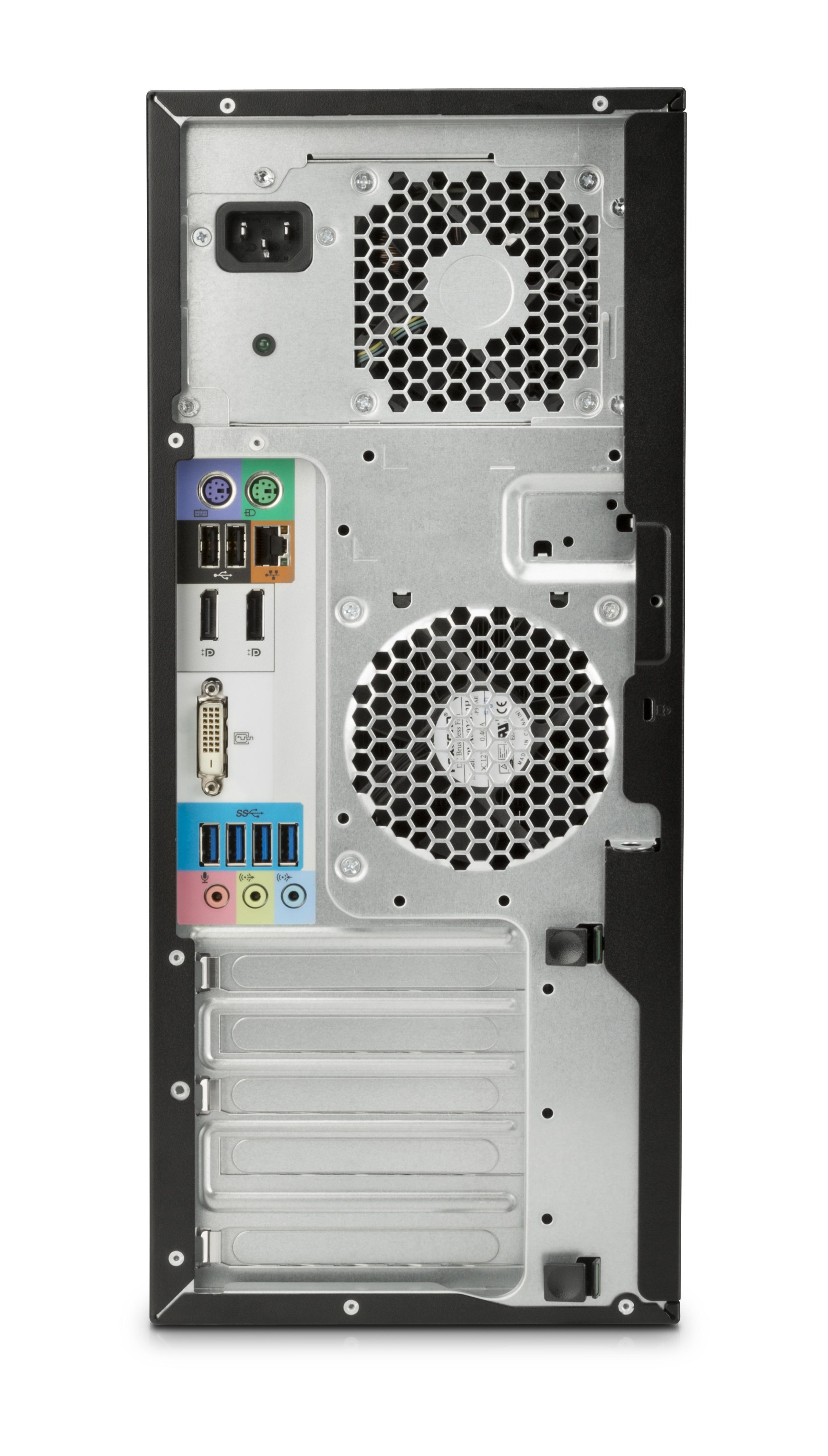 HP Z240 Tower + NVIDIA Quadro P400 3.5GHz i5-7600 Torre Nero Stazione di lavoro