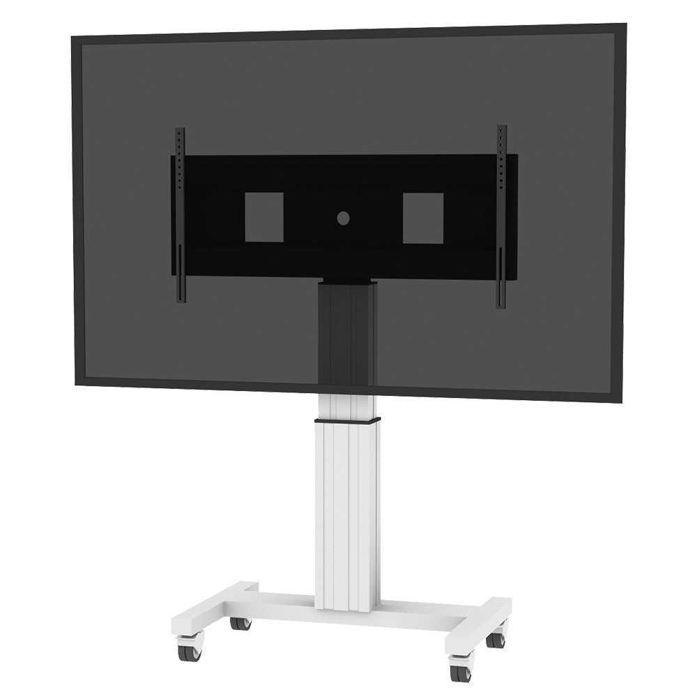 """Conen Mounts SCEXL 120"""" Portable flat panel floor stand Alluminio, Nero base da pavimento per tv a schermo piatto"""