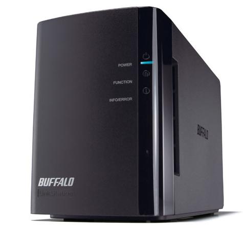 Buffalo LinkStation Duo - 4TB Server di archiviazione Scrivania Collegamento ethernet LAN Nero