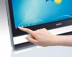 Sony VAIO VPCL12M1E/S 2.93GHz E7500 SFF Argento PC PC