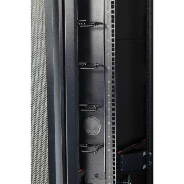 C2G QC4229SCR Pannello di gestione del cavo porta accessori