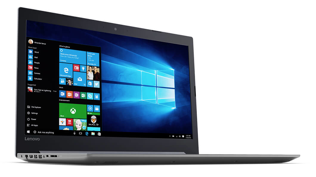 """Lenovo IdeaPad 320-17AST 1.8GHz E2-9000 17.3"""" 1600 x 900Pixel Nero, Grigio Computer portatile"""