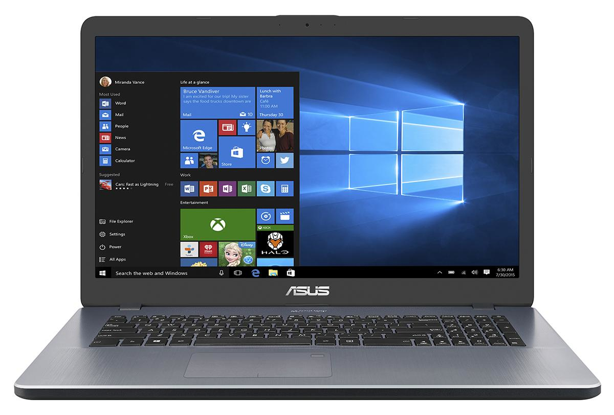 """ASUS VivoBook X705UA-BX299T 2GHz i3-6006U 17.3"""" 1600 x 900Pixel Grigio Computer portatile"""