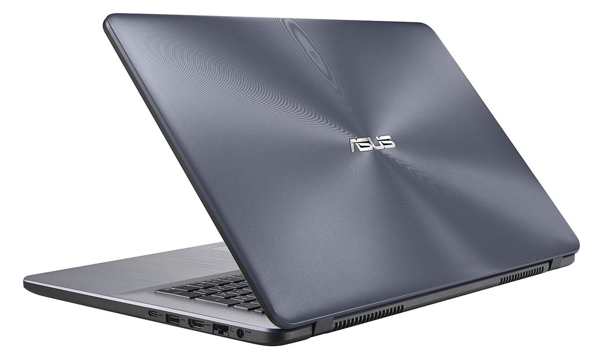 "ASUS VivoBook X705UA-BX301T 2.1GHz 4405U 17.3"" 1600 x 900Pixel Grigio Computer portatile"