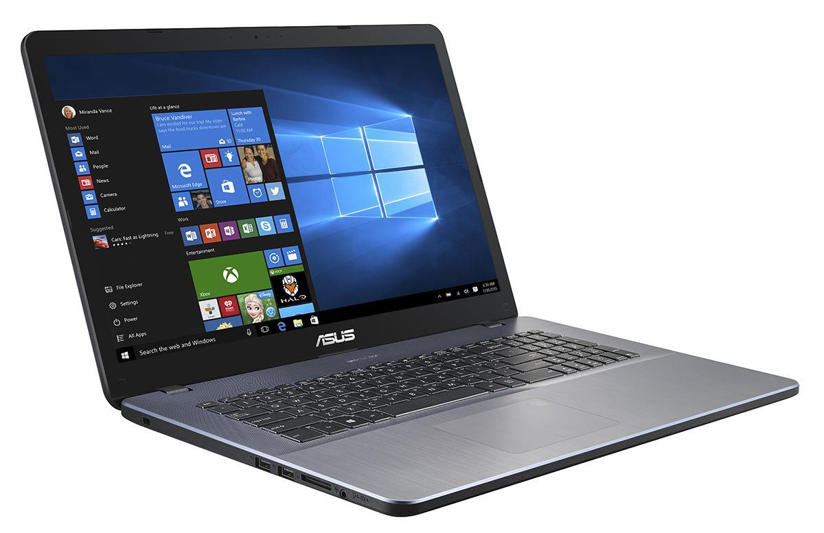 """ASUS VivoBook X705UA-BX073T 1.6GHz i5-8250U 17.3"""" 1920 x 1080Pixel Grigio Computer portatile"""