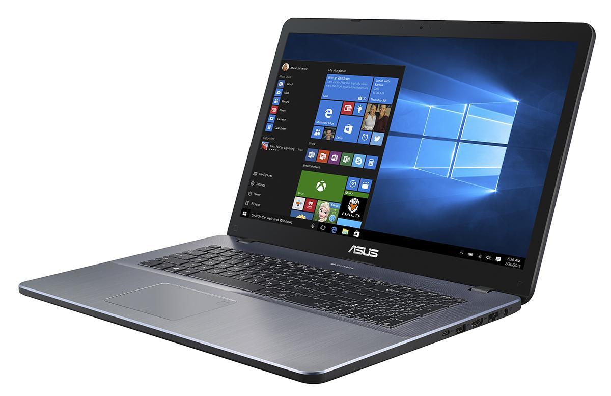 """ASUS P1700UV-GC250R 1.8GHz i7-8550U 17.3"""" 1920 x 1080Pixel Grigio Computer portatile"""