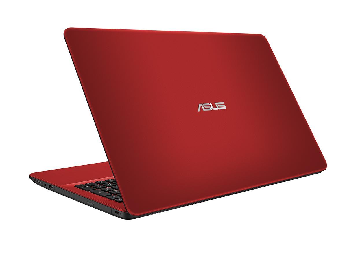 "ASUS VivoBook X542UR-GO453T 2.4GHz i3-7100U 15.6"" 1366 x 768Pixel Rosso Computer portatile"