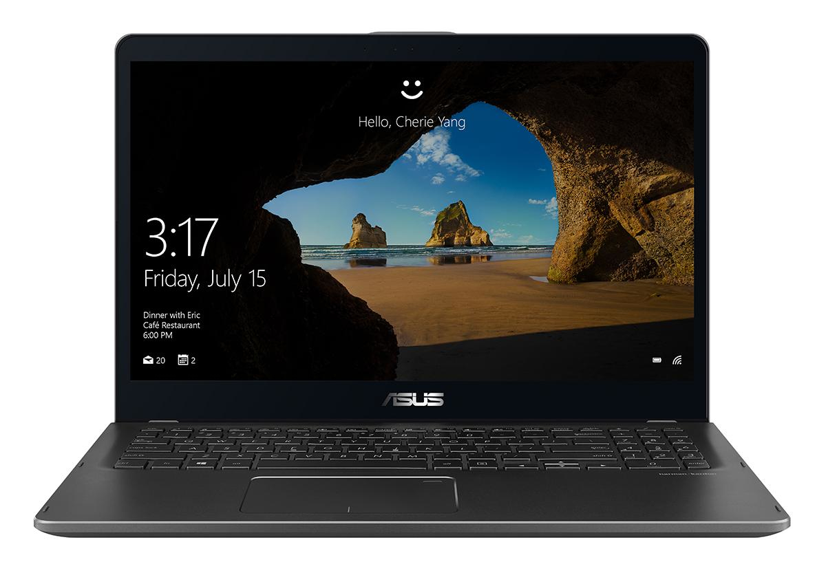 "ASUS ZenBook Flip UX561UA 1.8GHz i7-8550U 15.6"" 1920 x 1080Pixel Touch screen Grigio Ibrido (2 in 1)"