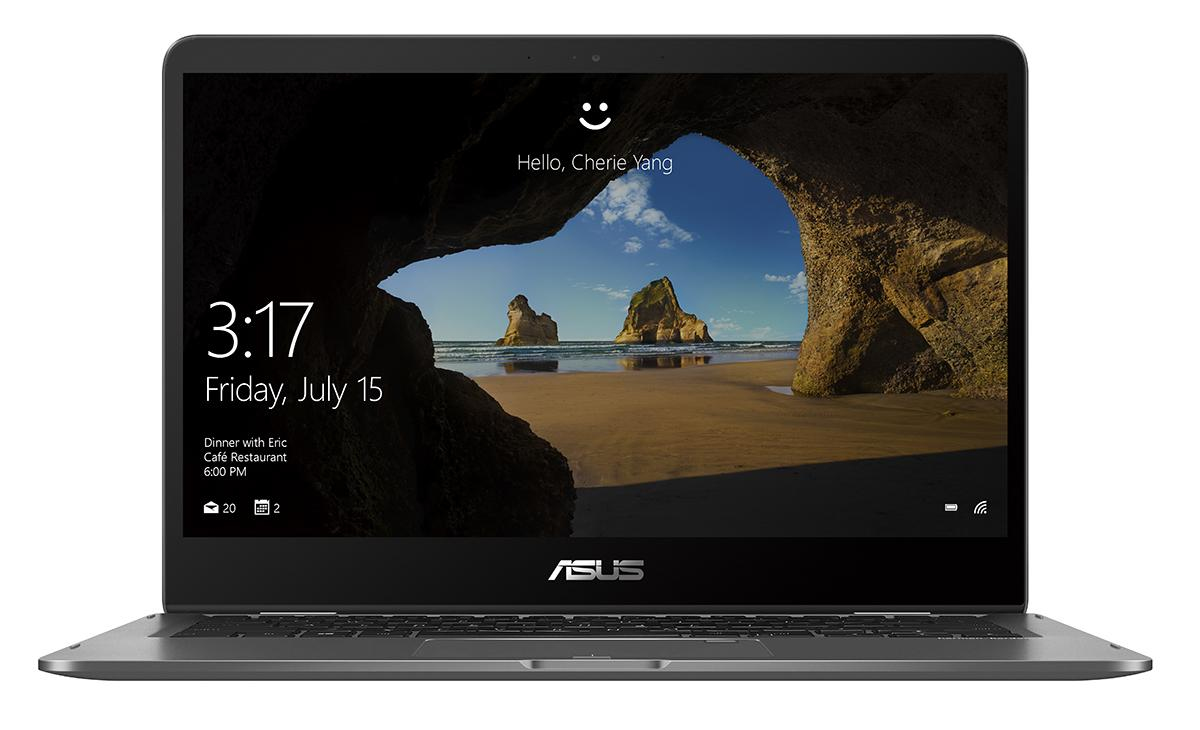 "ASUS ZenBook Flip UX461UA-E1012RB 1.6GHz i5-8250U 14"" 1920 x 1080Pixel Touch screen Grigio Ibrido (2 in 1)"