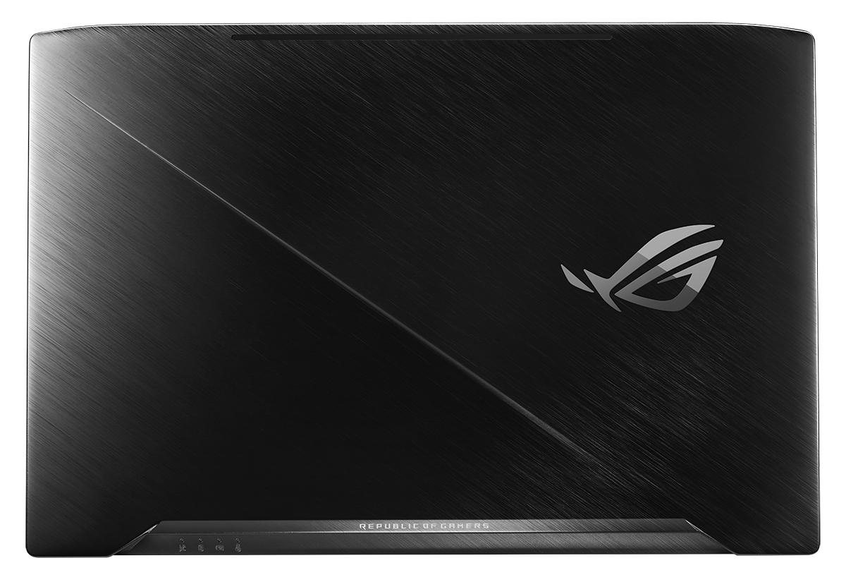 "ASUS GL703VD 2.8GHz i7-7700HQ 17.3"" 1920 x 1080Pixel Nero Computer portatile"