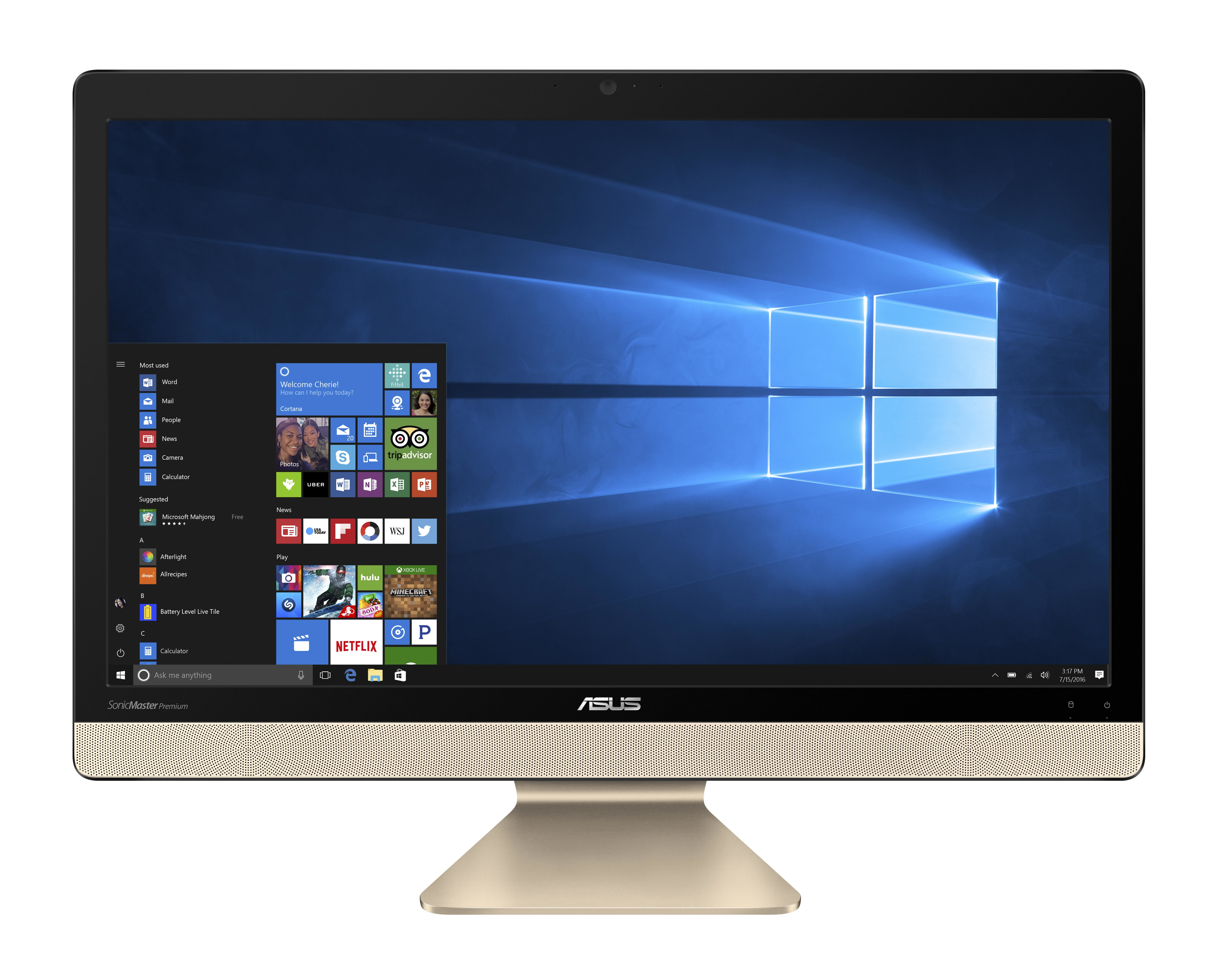 "ASUS Vivo AiO V221ICUK-BA174T 2.1GHz 4405U 21.5"" 1920 x 1080Pixel Nero PC All-in-one"