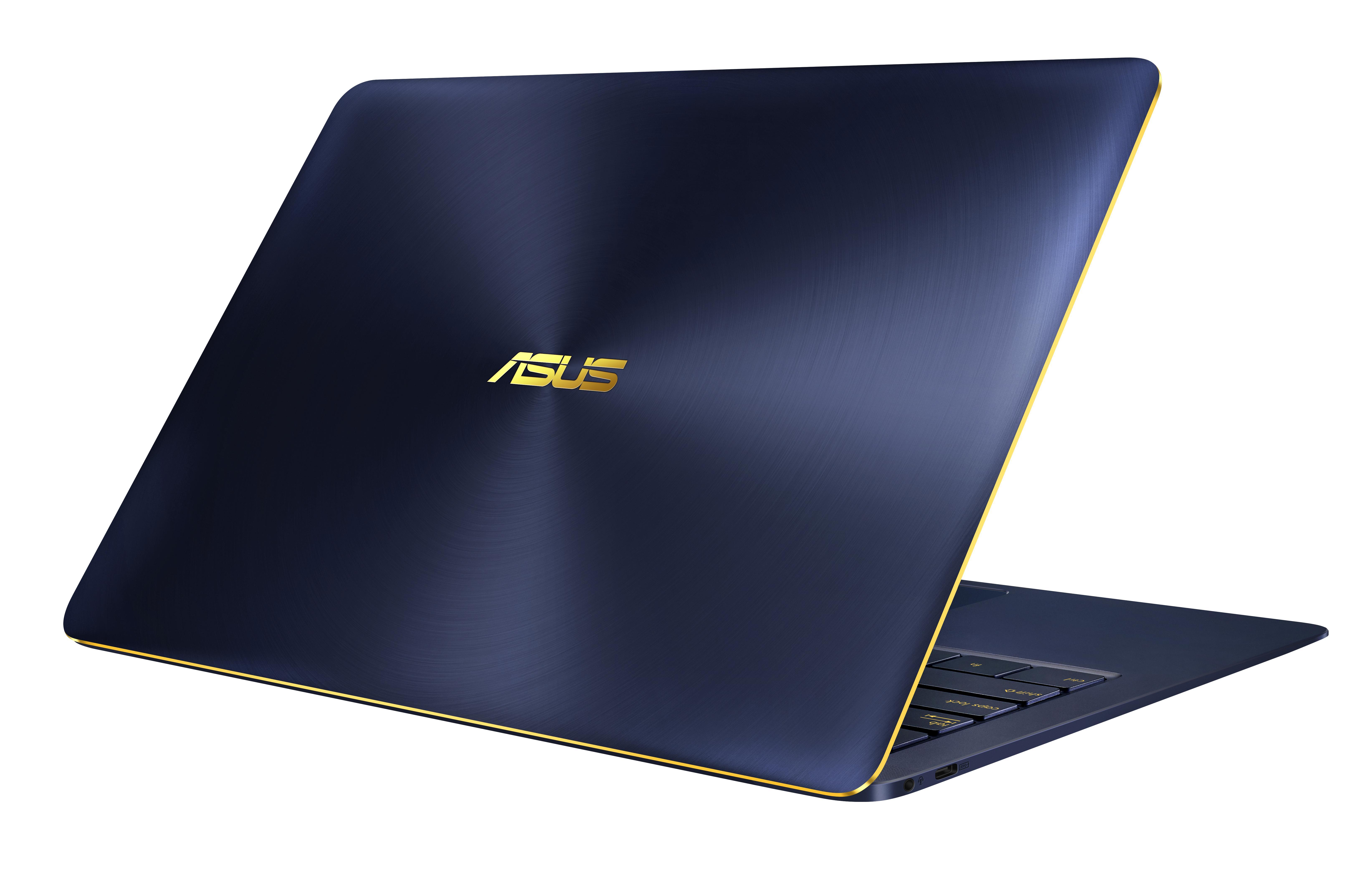 """ASUS ZenBook 3 Deluxe UX490UA-BE107R 1.8GHz i7-8550U 14"""" 1920 x 1080Pixel Blu Computer portatile"""