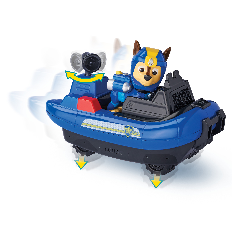 Paw Patrol Sea Patrol Themed Vehicle Chase veicolo giocattolo