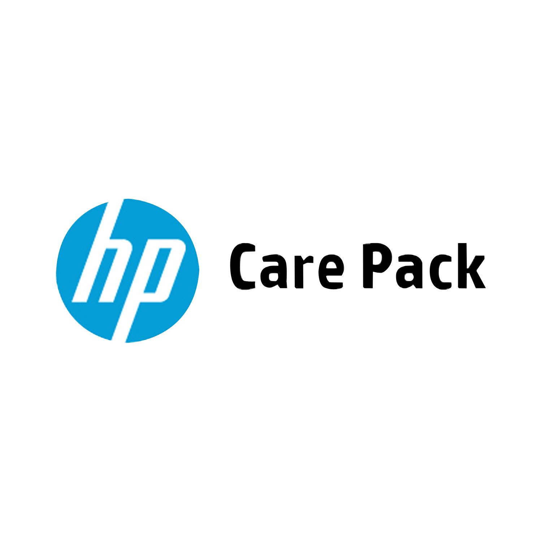 HP 4 anni di assistenza 9 ore x 5, supporto Software per Samsung SecurThru Server