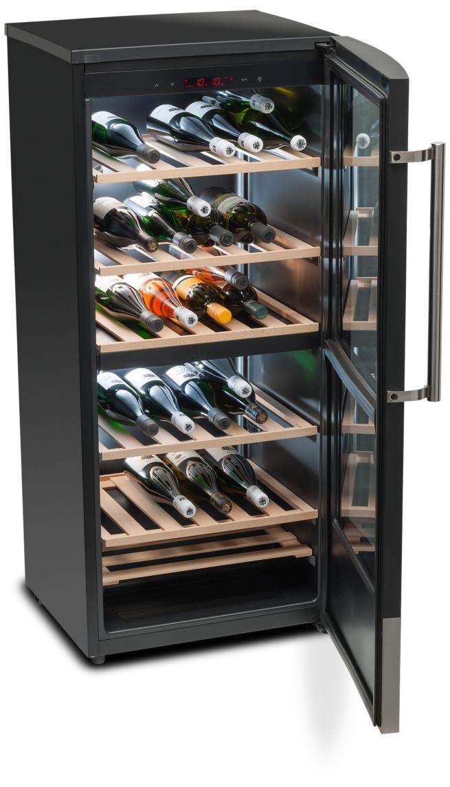 MEDION MD 37104 Libera installazione Nero 59bottiglia/bottiglie A