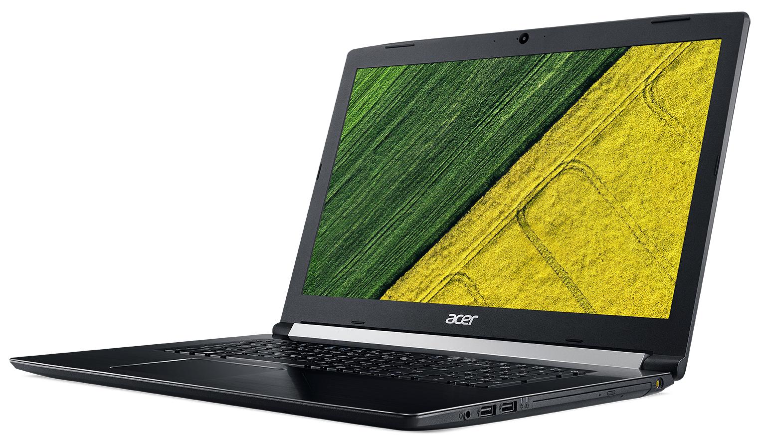 "Acer Aspire A517-51-57NH 1.6GHz i5-8250U 17.3"" 1600 x 900Pixel Nero Computer portatile"