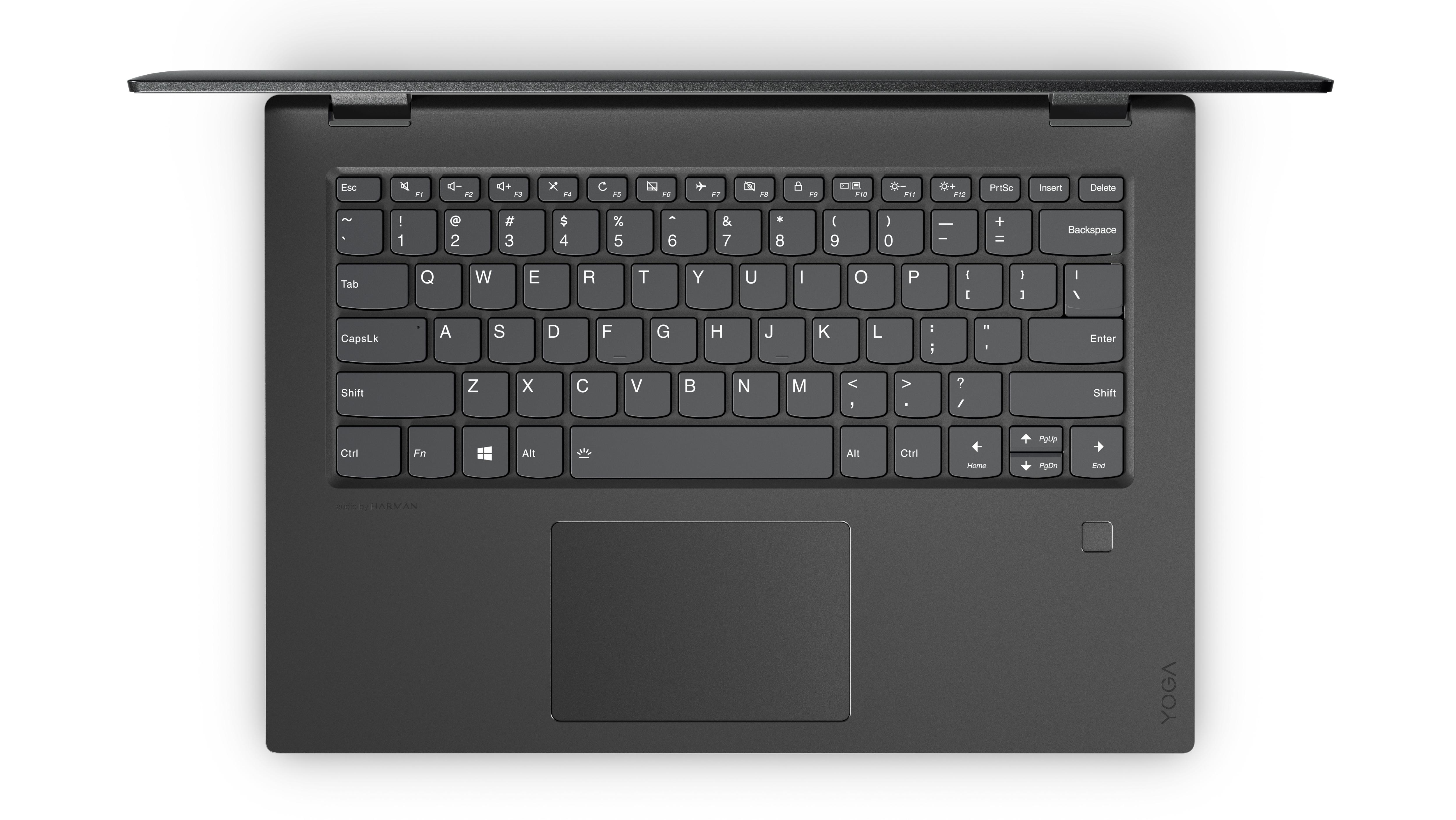 "Lenovo Yoga 520 2.7GHz i7-7500U 14"" 1920 x 1080Pixel Touch screen Nero Ibrido (2 in 1)"