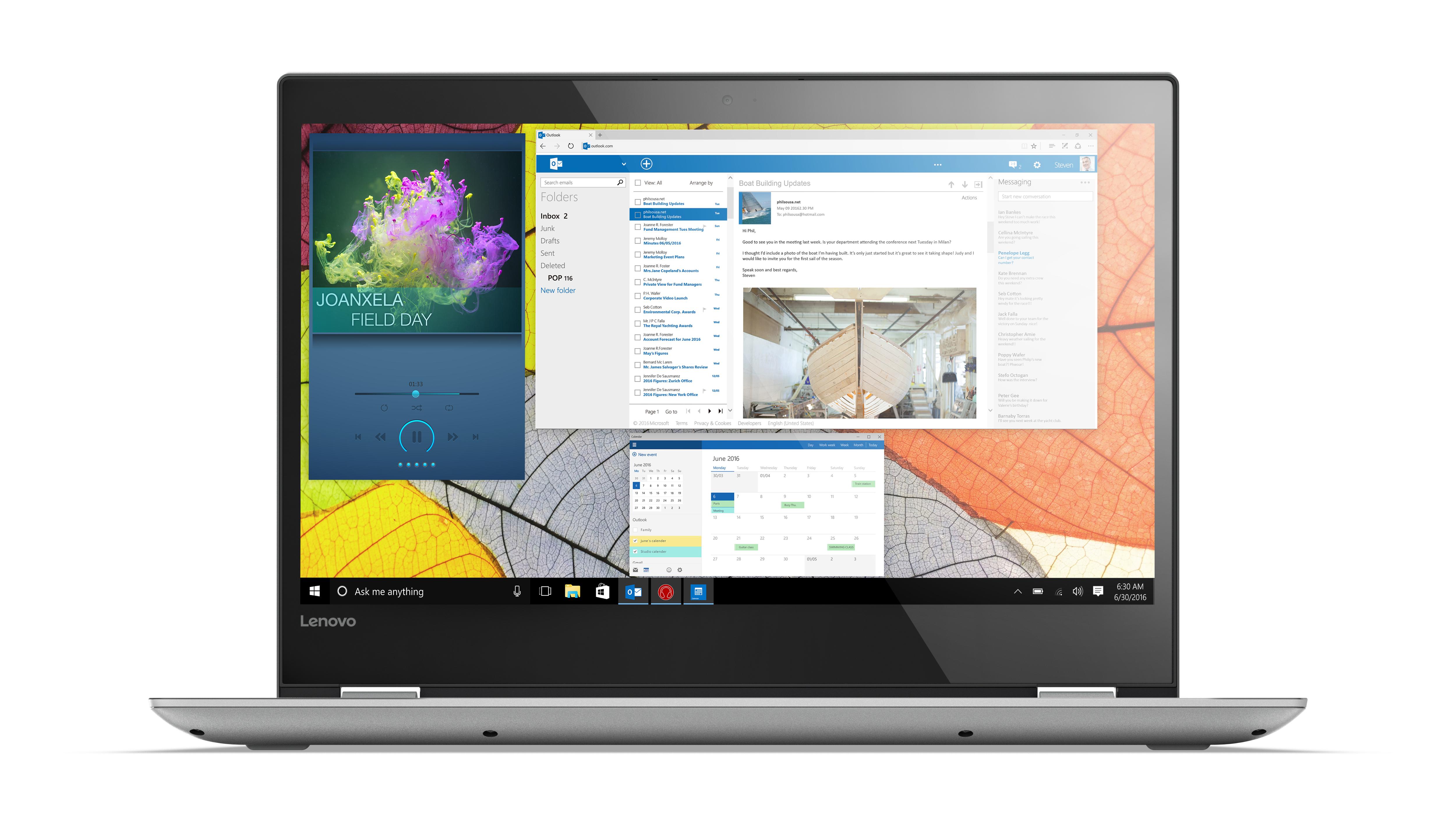 "Lenovo Yoga 520 2.5GHz i5-7200U 14"" 1920 x 1080Pixel Touch screen Argento Ibrido (2 in 1)"