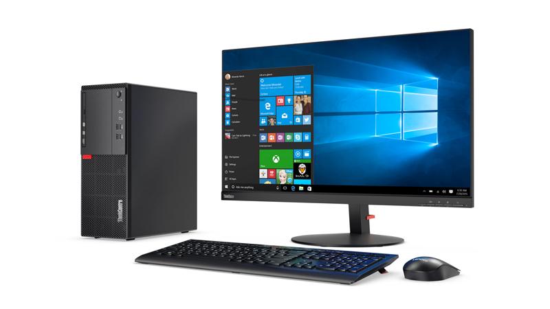 Lenovo ThinkCentre M710 3.9GHz i3-7100 Mini Tower Nero PC