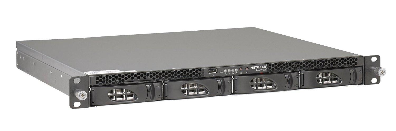 Netgear RN3138-100NES 40TB (4x 10TB Seagate Exos Enterprise HDD) NAS Rastrelliera (1U) Collegamento ethernet LAN Nero