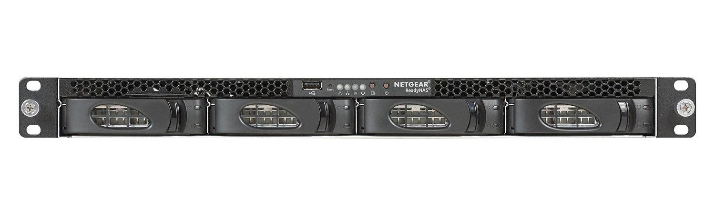 Netgear RN3138-100NES 4TB (4x 1TB Seagate Exos Enterprise HDD) NAS Rastrelliera (1U) Collegamento ethernet LAN Nero