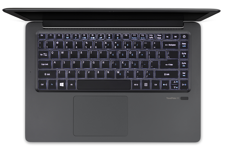 "Acer TravelMate X349-G2-M-54KQ 2.5GHz i5-7200U 14"" 1920 x 1080Pixel Grigio Computer portatile"