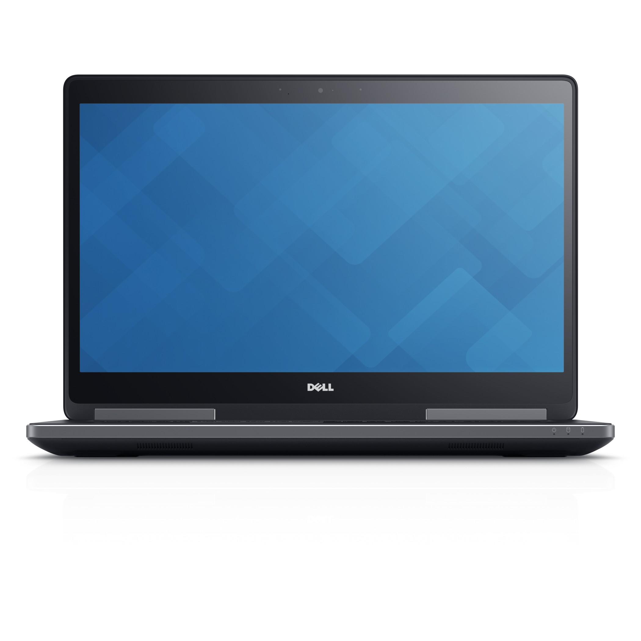 """DELL Precision XH8WD 2.8GHz i7-7700HQ 17.3"""" 1920 x 1080Pixel Nero Workstation mobile notebook/portatile"""