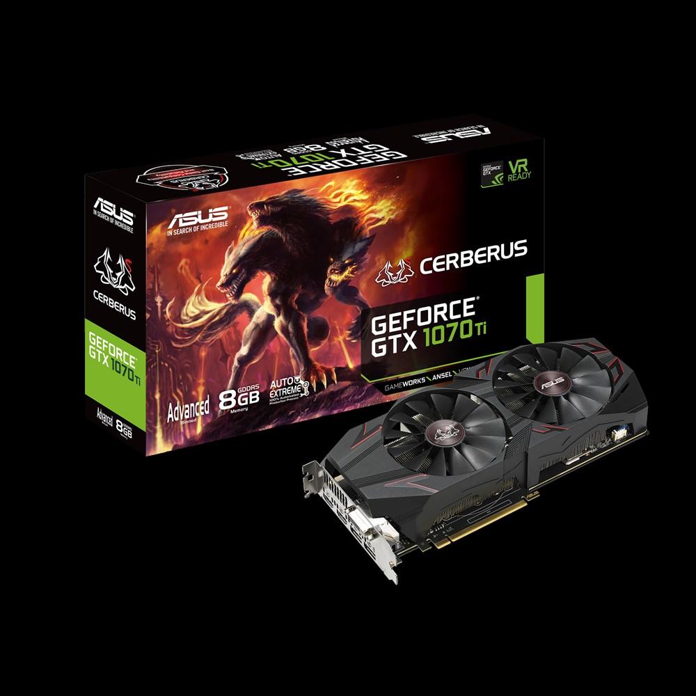 ASUS CERBERUS-GTX1070TI-A8G GeForce GTX 1070 Ti 8GB GDDR5