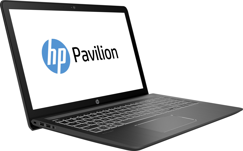 "HP Pavilion Power 15-cb024nf 2.8GHz i7-7700HQ 15.6"" 1920 x 1080Pixel Nero, Bianco Computer portatile"