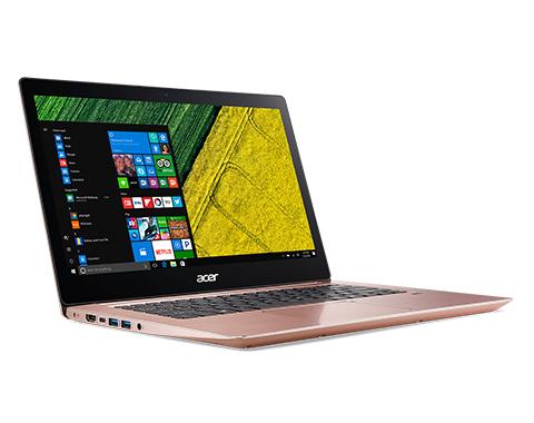 "Acer Swift SF314-52-3133 2.7GHz i3-7130U 14"" 1920 x 1080Pixel Rosa Computer portatile"
