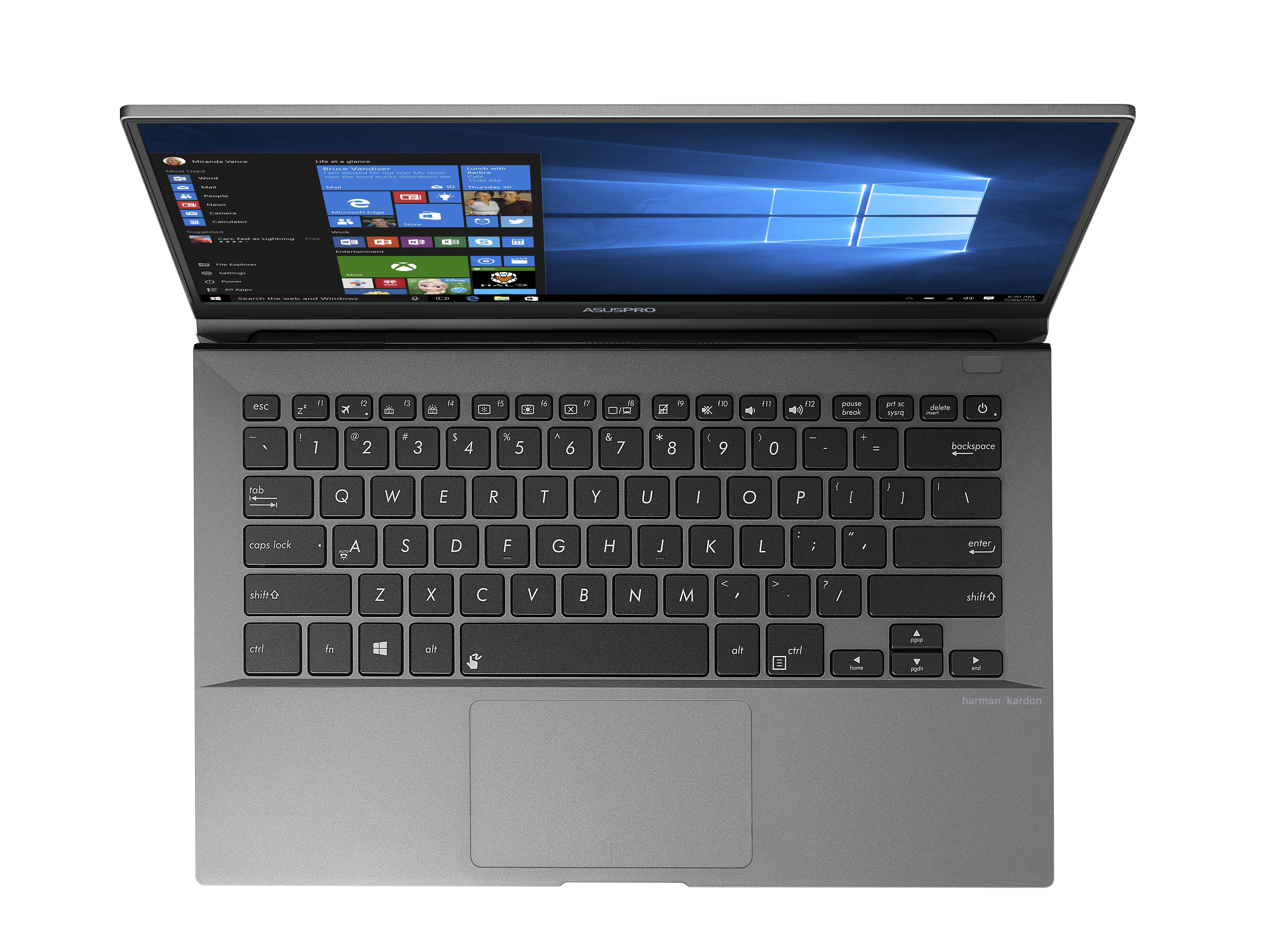 "ASUSPRO B9440UA-GV0230R 2.7GHz i7-7500U 14"" 1920 x 1080Pixel Grigio Computer portatile notebook/portatile"