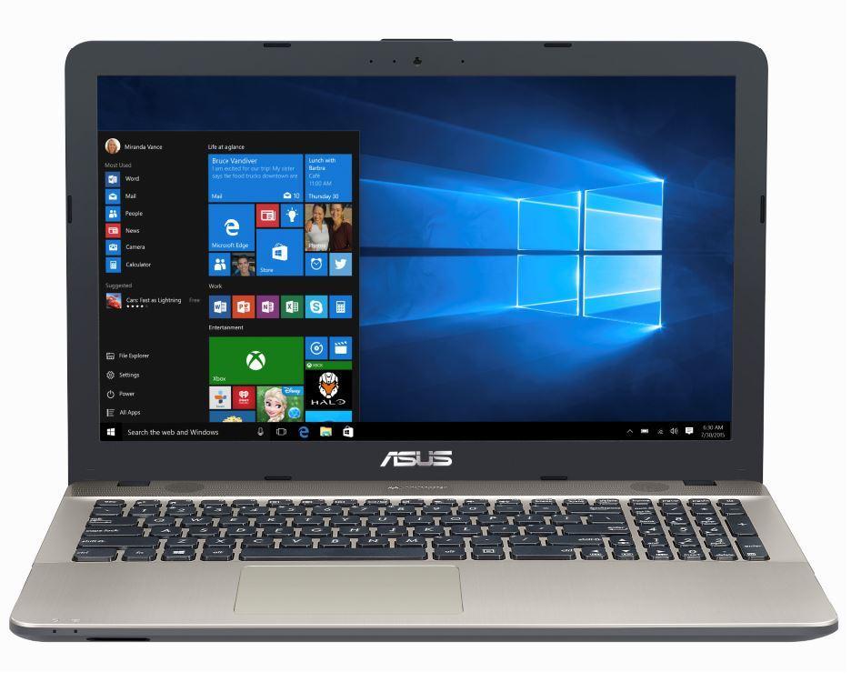 "ASUS VivoBook Max X541UJ-DM143 2.7GHz i7-7500U 15.6"" 1920 x 1080Pixel Nero, Cioccolato Computer portatile notebook/portatile"