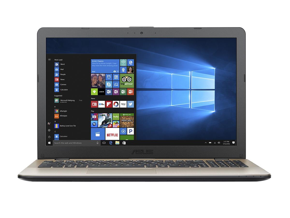 "ASUS VivoBook X542UA-GO285 2.4GHz i3-7100U 15.6"" 1366 x 768Pixel Oro Computer portatile notebook/portatile"
